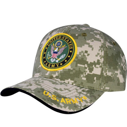 Imagine SAPCA US ARMY DELUXE LICENTA OFICIALA DIGITAL CAMOUFLAGE