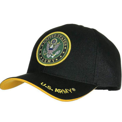 Imagine SAPCA US ARMY DELUXE LICENTA OFICIALA BLACK LOGO