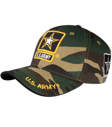 Imagine SAPCA US ARMY DELUXE LICENTA OFICIALA STAR CAMOUFLAGE