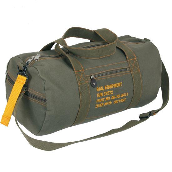 Imagine Geanta Canvas Equipment Bag Army Kaki