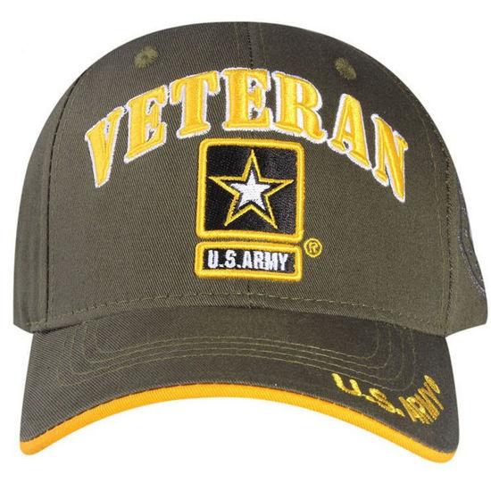 Imagine DELUXE US ARMY STAR VETERAN OFFICIAL LICENSE CAP COD 78