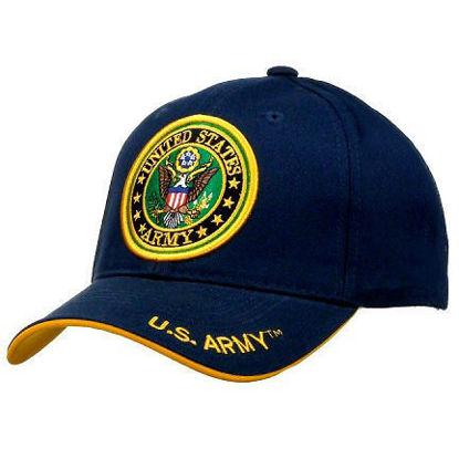 Imagine SAPCA US ARMY LICENTA OFICIALA COD 56 BLEUMARIN
