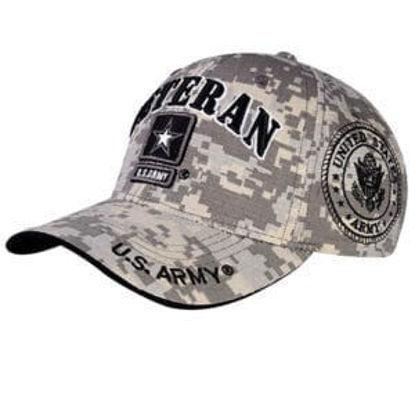 Imagine SAPCA VETERAN US ARMY LICENTA OFICIALA COD 57 CAMO GREY