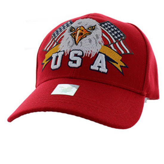Imagine SAPCA AMERICAN USA EAGLE & FLAG RED CODE 113