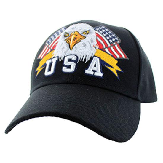 Imagine SAPCA AMERICAN USA EAGLE & FLAG BLACK CODE 112