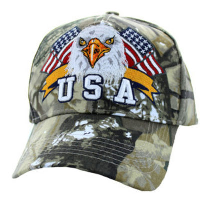 Imagine SAPCA AMERICAN USA EAGLE & FLAG HUNTING CAMO CODE 114