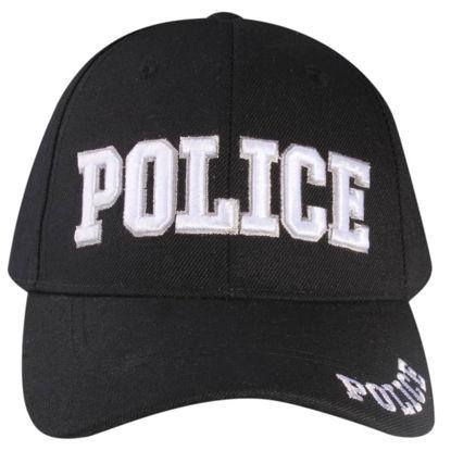 Imagine SAPCA POLICE VELCRO CAP CU BRODERIE
