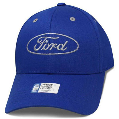 Imagine DELUXE FORD LOGO ROYAL CAP 100% Bumbac