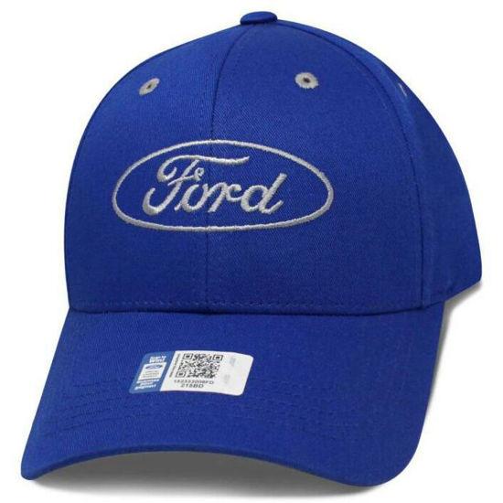 Imagine DELUXE FORD LOGO ROYAL CAP 100% Bumbac
