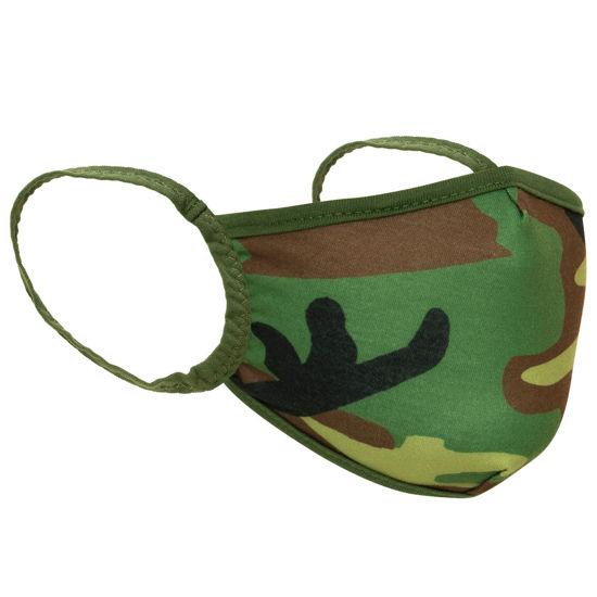 Imagine Masca de protectie camouflage reutilizabila 3 straturi