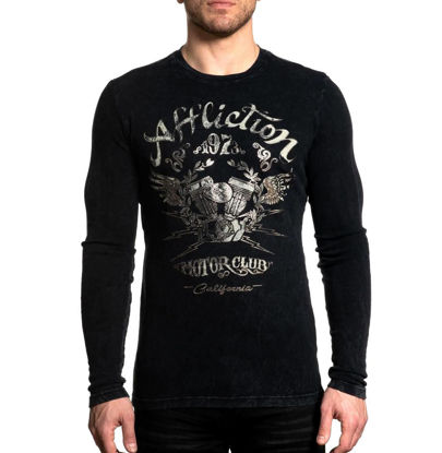Imagine TRICOU MANECA LUNGA AFFLICTION AC CALI RIDE