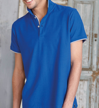 Imagine TRICOU POLO PIQUE ROYAL BLUE