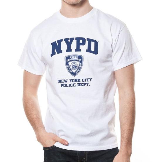Imagine TRICOU NYPD LICENTA OFICIALA WHITE COLOR