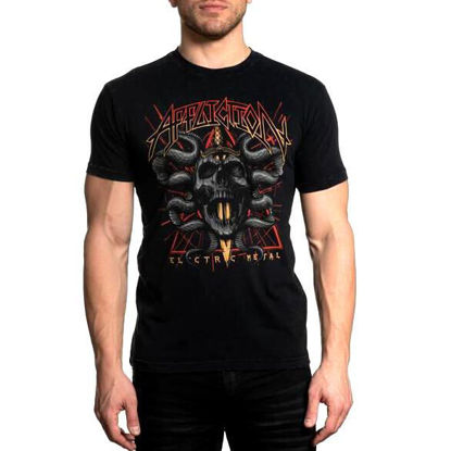 Imagine TRICOU AFFLICTION ELECTRIC METAL