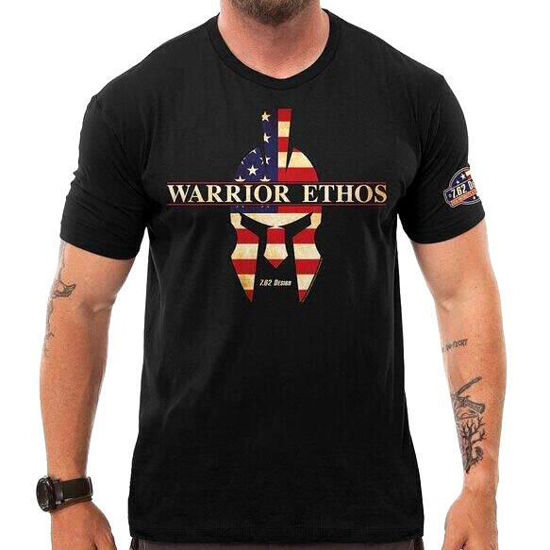 Imagine TRICOU American Warrior Ethos Black Tshirt