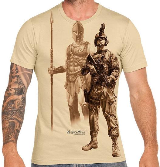 Imagine TRICOU Spirit of a Warrior – Premium Men's T-Shirt