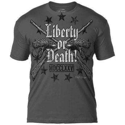 Imagine TRICOU Liberty or Death – Premium Men's T-Shirt