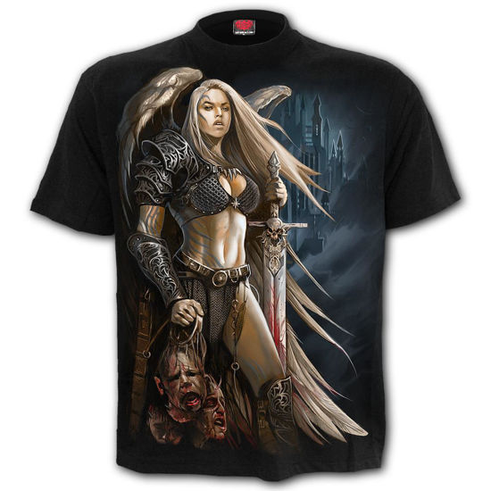 Imagine TRICOU ANGEL WARRIOR – T-Shirt Black