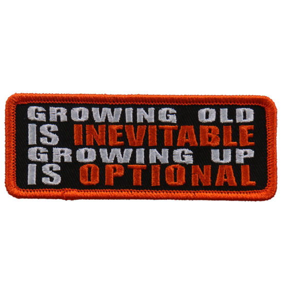 Imagine Emblema Growing old…Patch 10cm/5cm