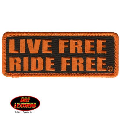 Imagine Emblema Live Free Ride Free Patch 10cm/5cm