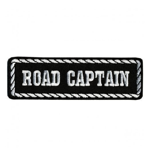 Imagine Emblema Road Captain Patch 10cm/3cm
