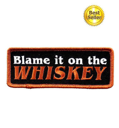 Imagine Emblema Blame It On The Whiskey Patch 10cm/5cm