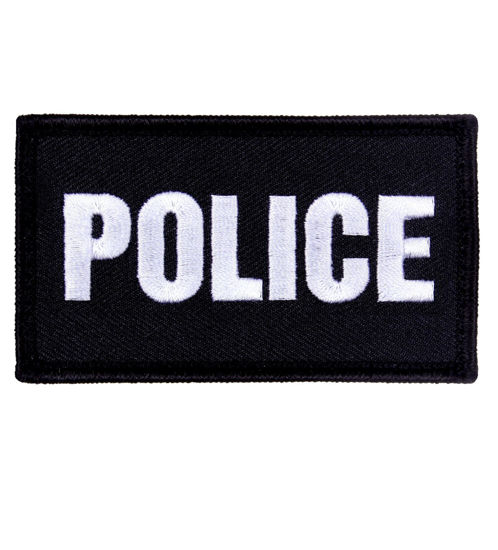 Imagine Emblema cu scai Police Patch 7cm/5cm
