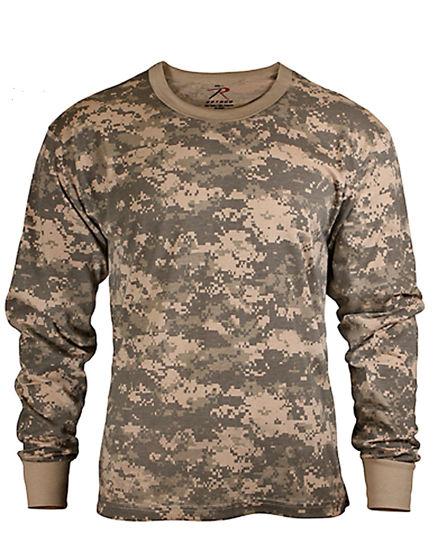 Imagine TRICOU CU MANECA LUNGA pentru COPII Kids Long Sleeve Camo T-shirt