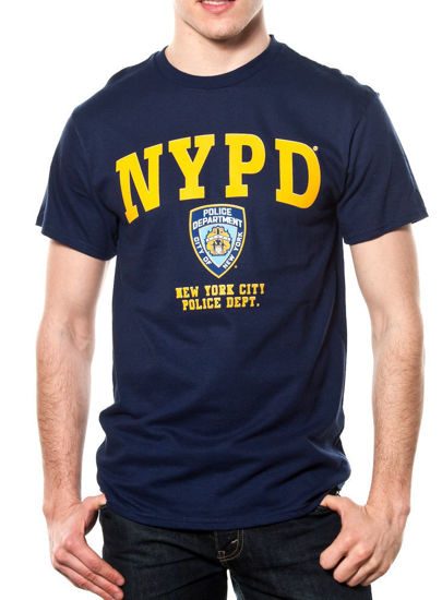 Imagine TRICOU NYPD YELLOW PRINTED TEE/licenta oficiala