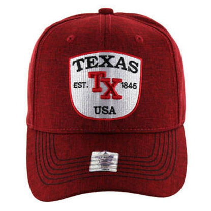 Imagine SAPCA TEXAS BASEBALL CAP SOLID RED COD 55