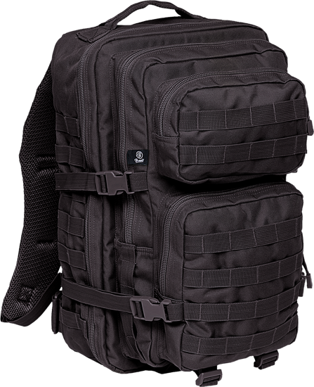 Imagine RUCSAC MILITAR BLACK LARGE 40 LITRI
