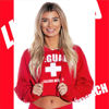 Imagine HANORAC Malibu Cropped Hoodie Lifeguard Beach Official License