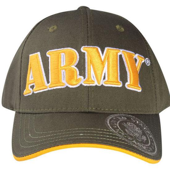 Imagine SAPCA US ARMY LICENTA OFICIALA KAKI KAKY COD 201/100% Bumbac